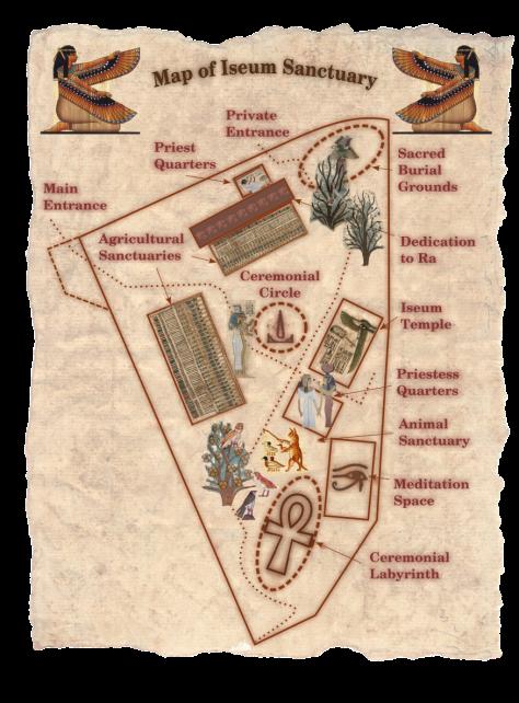 Iseum Sanctuary Map