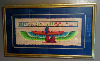 Winged Isis Papyrus