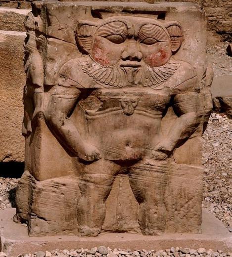 Bes at the Temle of Dendara