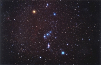 Orion and Sothis Star