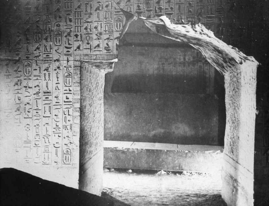 Saqqara – The Pyramid Texts