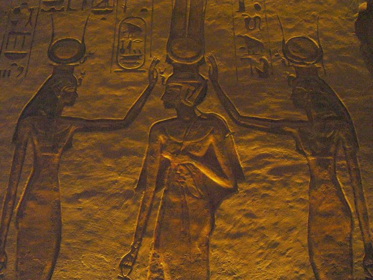 Hathor and Aset