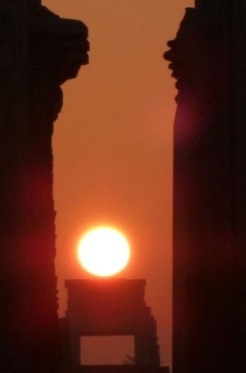 Solstice in karnak