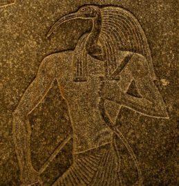 Thoth on Sarcophagos
