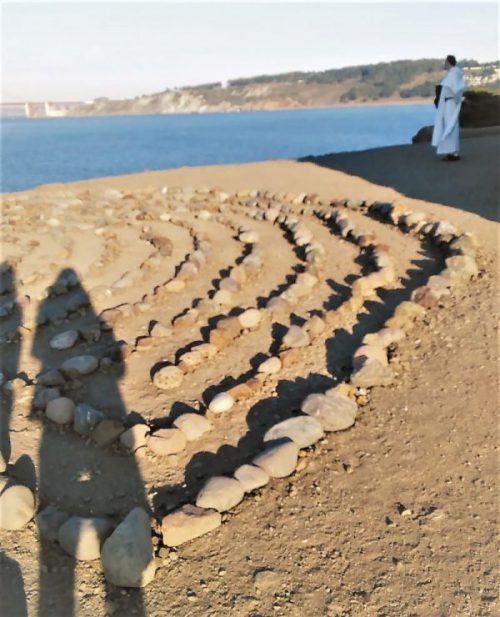 A field of stones shaped likehearts…