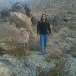 Rev Timm Amun-Ra at Joshua Tree Sanctuary