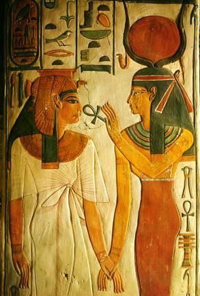 Isis and Nefrotari