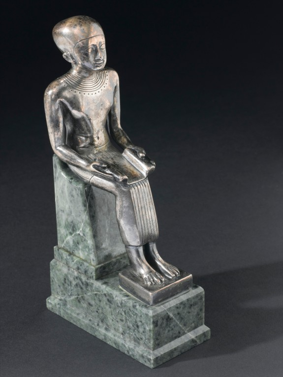 Statue of Imhotep, Egypt, 600-500 BCE
