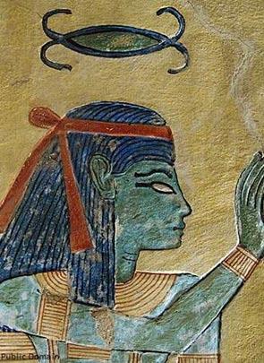 Egyptian-Goddess-of-Weaving