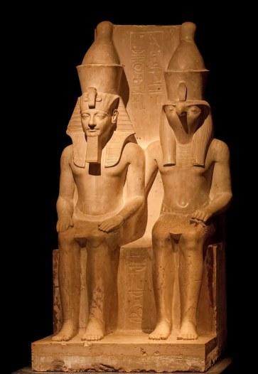 Horemheb and Horus