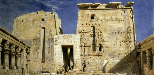 Werner_Temple_of_Philae2