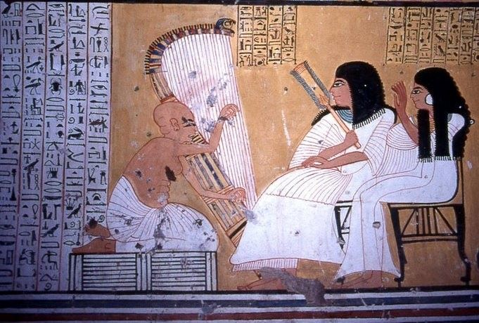 Ancient Egyptian Hymns, Poetry and the Songs of the Harpers